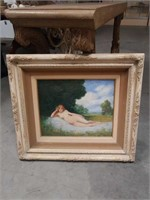 Painting of a nude