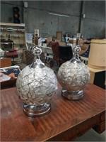 Mod.chrome acrylic lamps