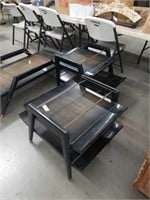 Set of 3 50's tables  made by Gordon's Inc.