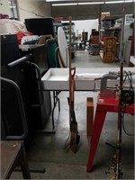 Bundle of yard tools