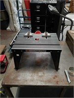 Craftsman router / saber saw table