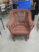 Patio glider chair