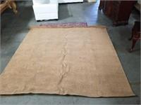 9 by 9 Brown modern rug