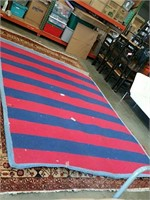 8 x 10 red and blue rug