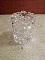 Waterford crystal canister