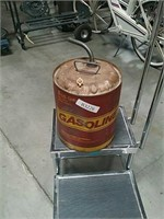 Old 5 gallon gasoline can