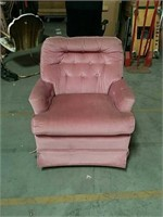 Pink o s rocking chair