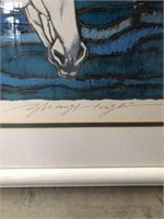 Artist proof signed signed and numbered CLA with