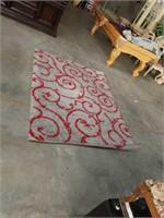5 by 7 shaggy rug