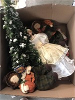 Box of Holiday display items