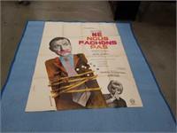 A large vintage  Ne Nous Fachons Pas movie poster