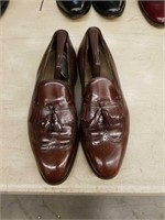 Pair of men's leather dress shoes