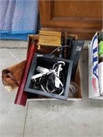 Box of wastebasket and miscellanea