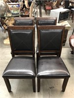 Lot of 4 dining chairs