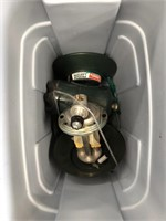 Tub of Coleman propane tanks etc.