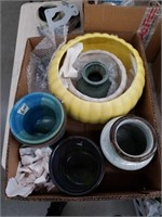 Box of pottery