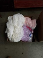 Box of linen and clothes