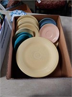 Box of fiesta dishes
