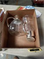 Box of pitchers