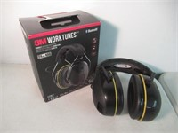 """""""As Is"""" 3M Worktunes Connect Bluetooth Hearing"""