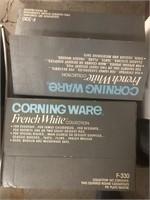 Box of corning ware