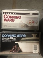 Box of Corningware