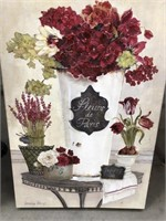 Bundle of pictures quilt/floral