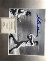 Ted Williams 8 x 10 photo autographed