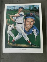 Ted Williams lithograph