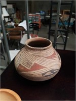 Collection of Hopi native  American pottery