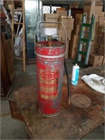 Old pump Fire extinguisher