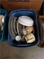 Box of glass ware