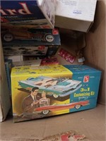Box of old cars