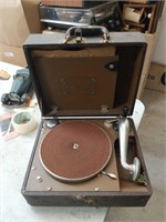 Old phonograph/record player