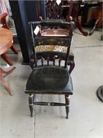 Ebony side chair
