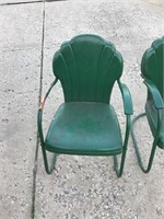 Pair of Shellback Chairs.