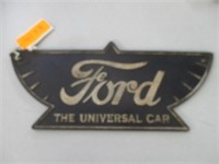 """Cast Iron """"Ford"""" Sign"""