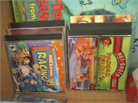 Childrens Books And Various PC Games