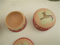 Melamine Flower Plate Collection, Canisters,