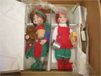 Porcelain Dolls (Santa's Little Helpers, Rapunzel)