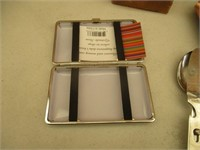 License Plates, Ash Trays, Vintage Capacitors