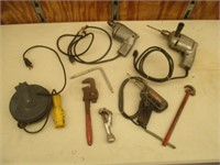 Pipe Cutter, Pipe Wrench, Weller Soldering Iron
