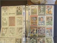 2) Binders Full Of Various Football Trading Cards