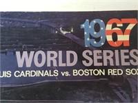 1967 World Series Cardinals Vs. Red Sox Program