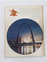 1968 WS Cardinals Vs. Tigers Program W/ Ticket