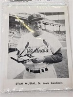 (12) 1961 St Louis Cardinals 5x7 Baseball Pictures