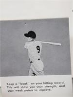 1961 Roger Maris Batting Secrets Flip Book