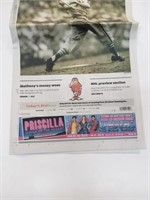 Stan Musial St Louis Post Dispatch Tribute Paper