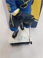 Erik Johnson Signed St Louis Blues SGA Figure