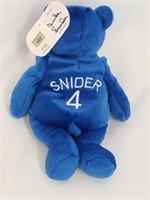 RARE Duke Snider Signed /500 Reggie Jackson Bear